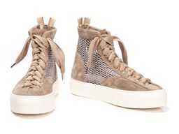 Dust Milk High Top Sneaker