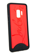 Loubiphone Sneakers Samsung S9 BLACK/RED Case