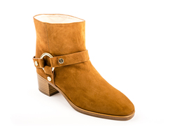 Expert Pecan Suede Ankle Boot